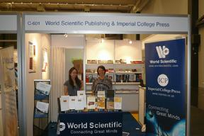 Presentation of the QQML2009 Book in World Scientific Booth in 2010 IFLA Congress in Gothenburg, Sweden